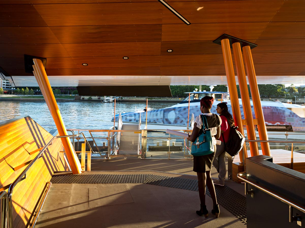 Brisbane CityCat Ferry Terminals Revitalisation © Christopher Frederick Jones