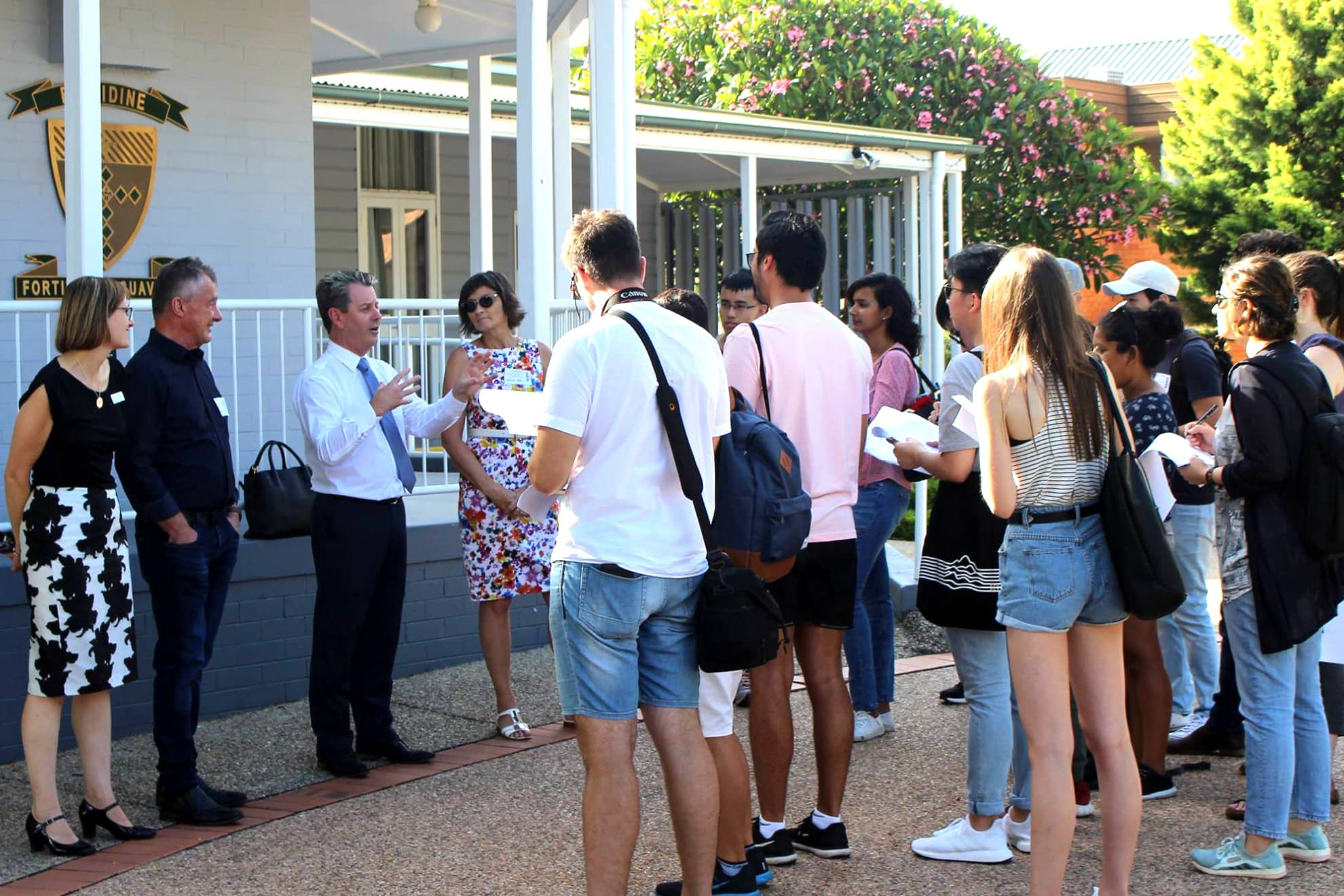 UQ Master Class Site Visit to Brigidine College