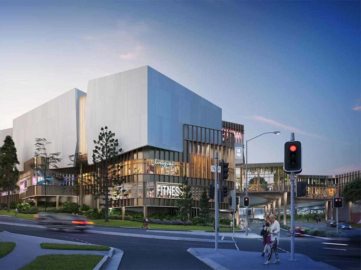 Mt Ommaney Entertainment + Leisure Precinct - Blight Rayner in association with Lat27