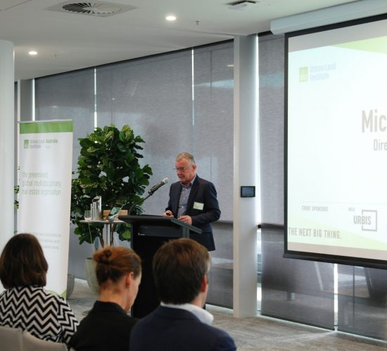 Urban Land Institute's Young Leaders Summit in Brisbane on Friday 24 August