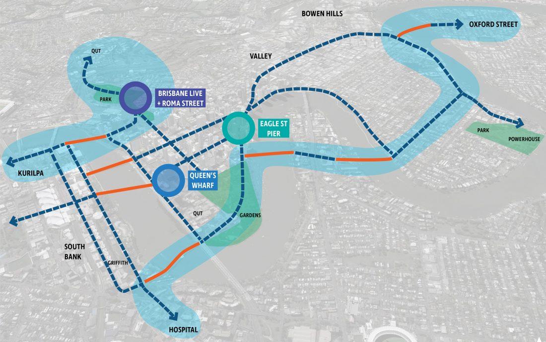 Interconnected Bridges & Movement Corridors