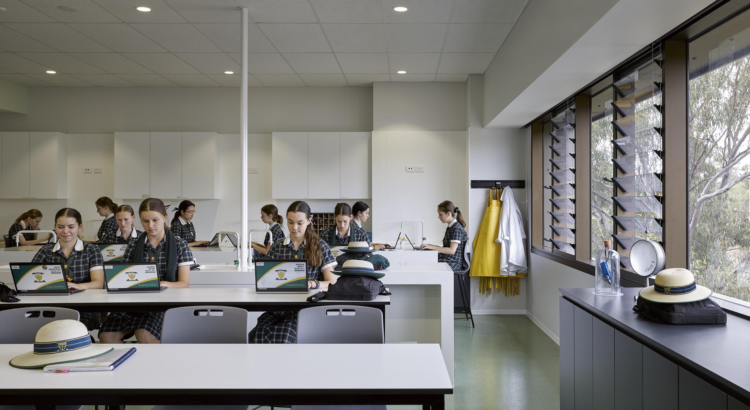 The Marian Centre, Brigidine College - Blight Rayner © Christopher Frederick Jones