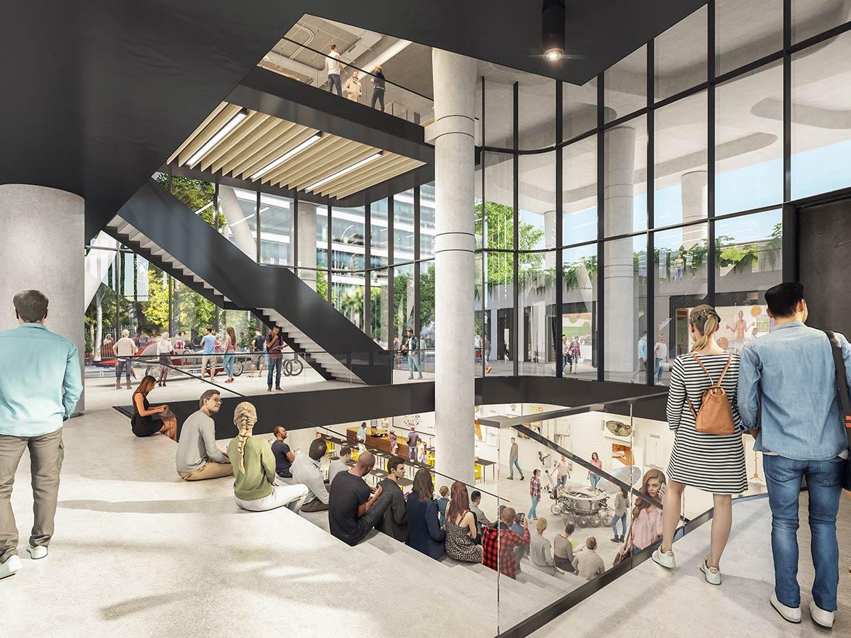 6 Hassall Street, Parramatta - Tzannes + Blight Rayner