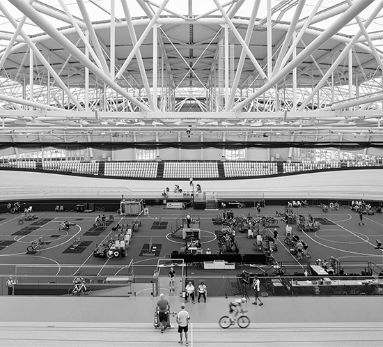 Before Blight Rayner - Anna Meares Velodrome