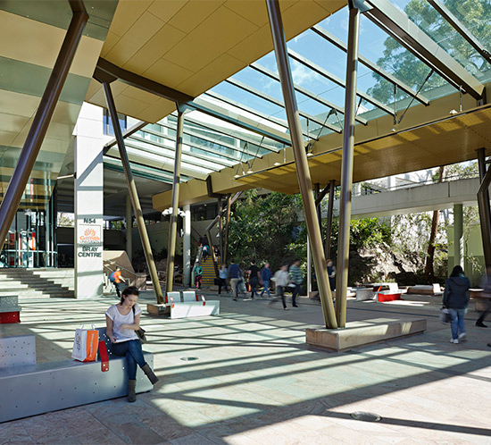 Before Blight Rayner - Griffith University Nathan Campus Revitalisation