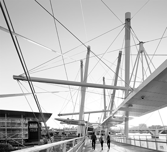 Before Blight Rayner - Kurilpa Pedestrian Bridge