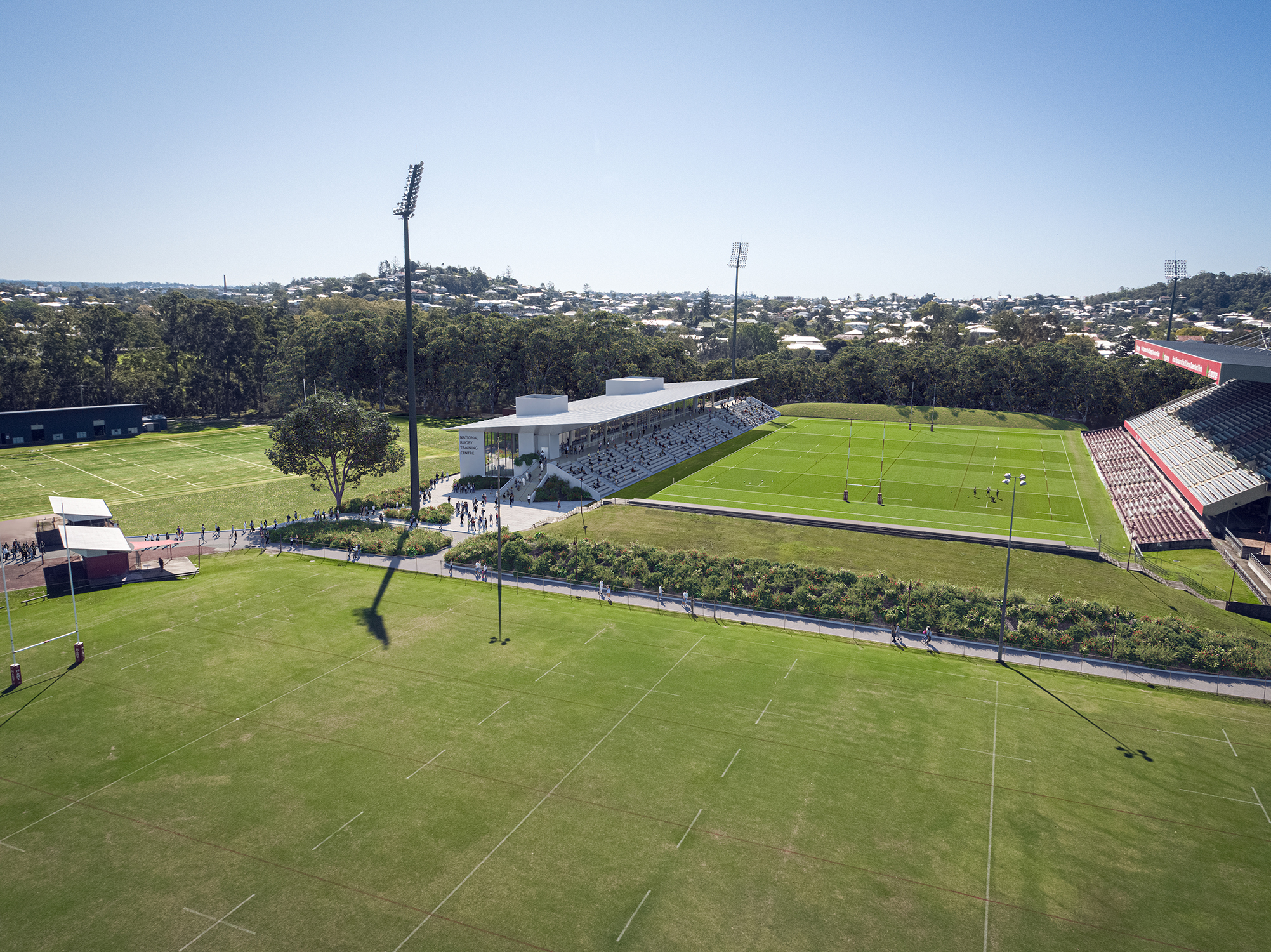 National Rugby Training Centre (NRTC), Ballymore - Blight Rayner