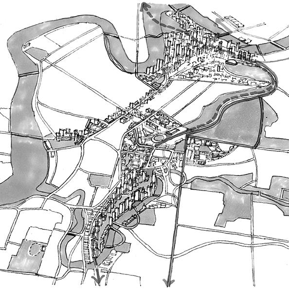 The Concept - Victoria Park ultimately set between two metropolises - Brisbane's Defining Green Corridor