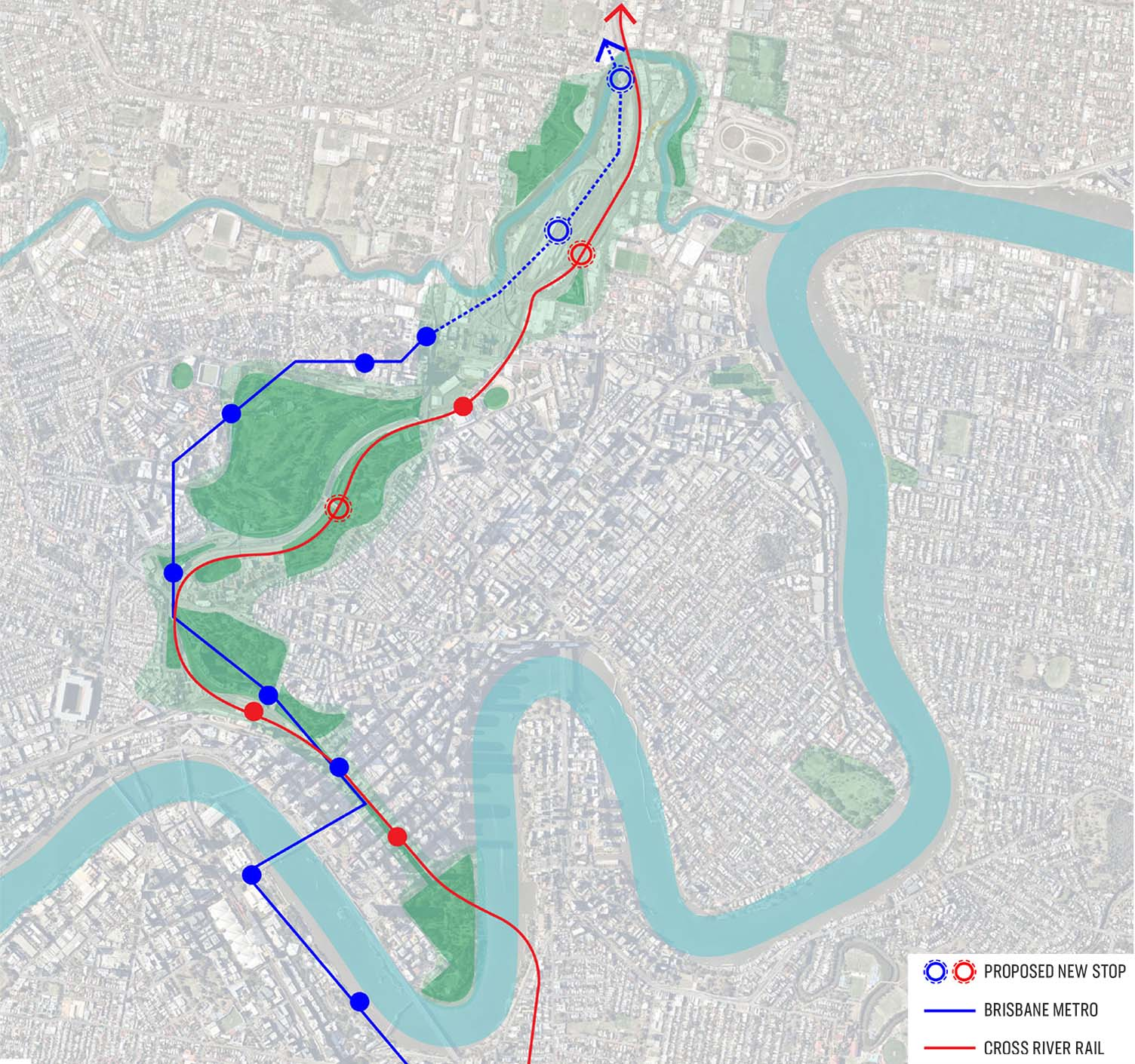 Plan corresponds with new transport infrastructure - Brisbane's Defining Green Corridor