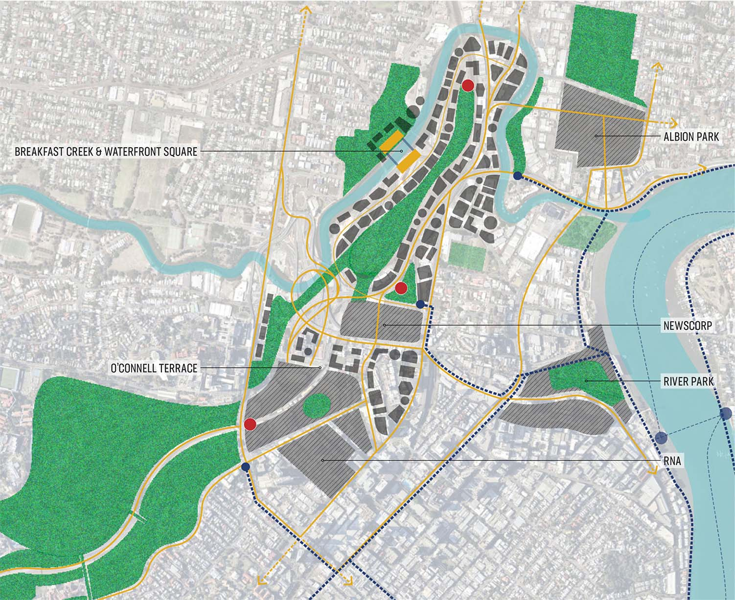 The Future Mayne Metropolis - Brisbane's Defining Green Corridor